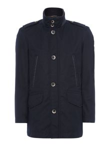 Button front over jacket