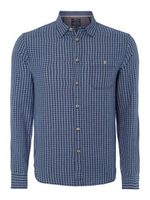 Marton Mini Check Long-Sleeved Shirt