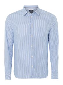 Watson bengal stripe long-sleeved shirt