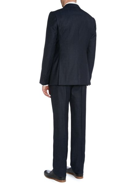 Armani Collezioni Metropoiltan slim fit textured suit