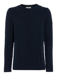 cabel knit jumper