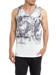 The Cuckoos Nest Oil spill printed vest