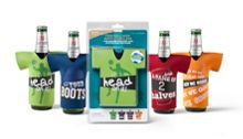 Beer Chillers football design set of 4