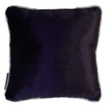 Snake diamond border ametheyst cushion
