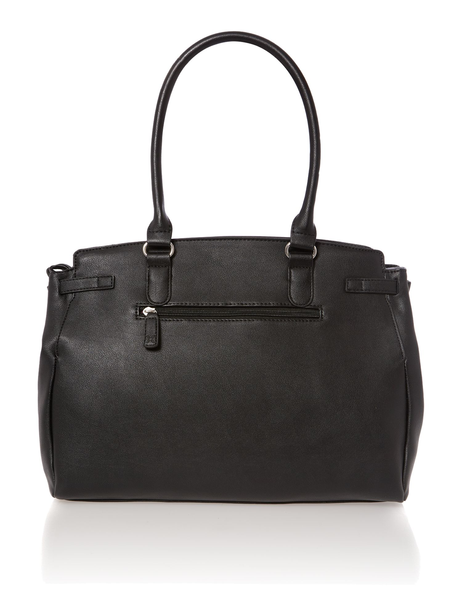 Lucy black tote bag