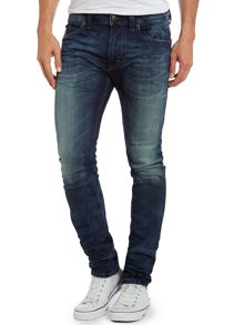Thavar 600s skinny mid wash jogg jeans