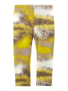 Girls graphic print leggings