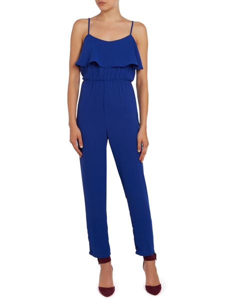 Glamorous Frill Top Jumpsuit