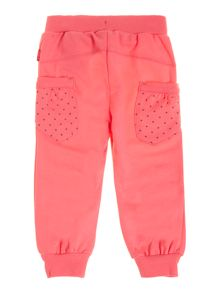 Girls jersey tracksuit bottoms