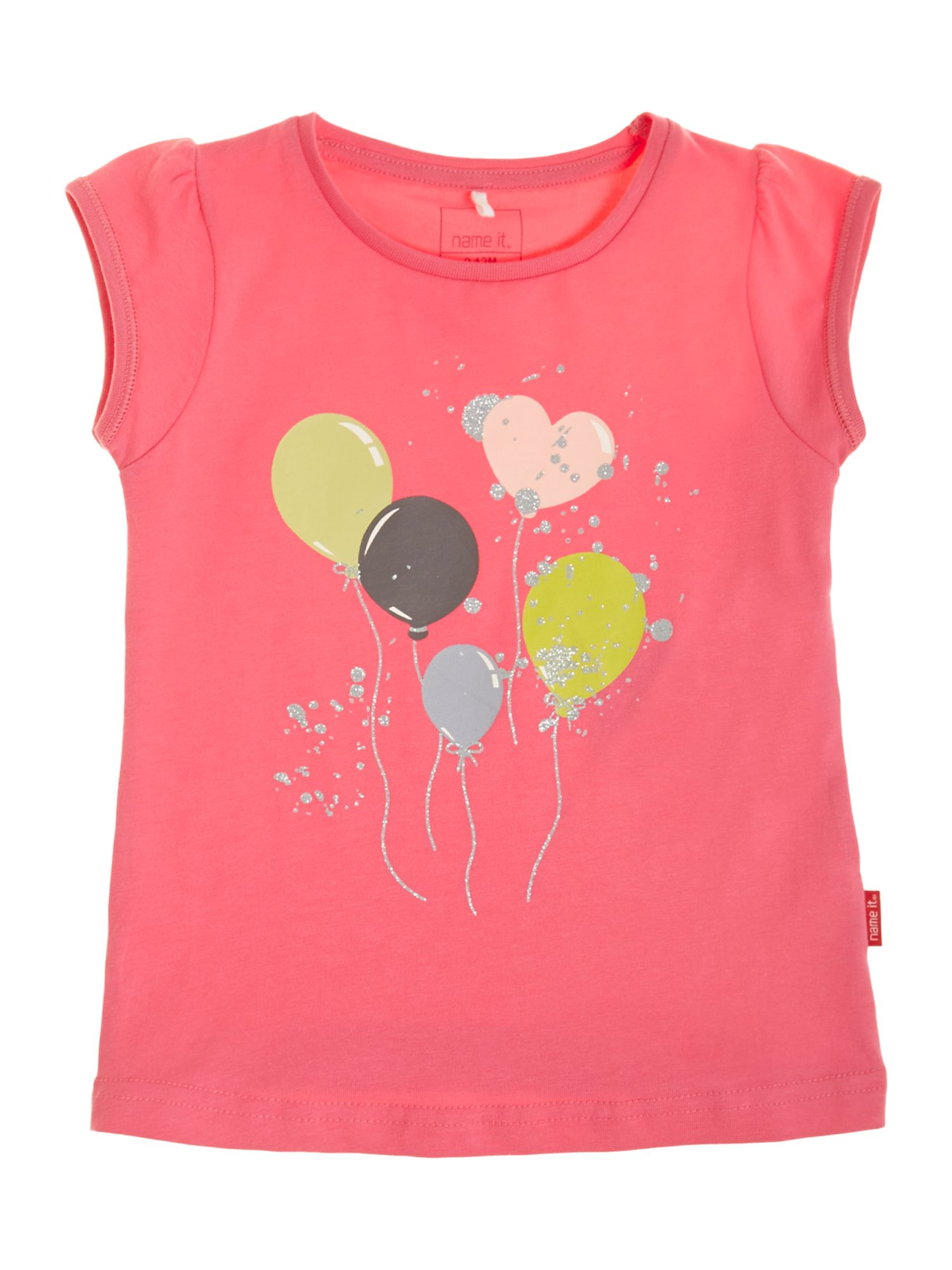 Girls baloon print t-shirt