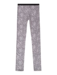 Girls dot print legging