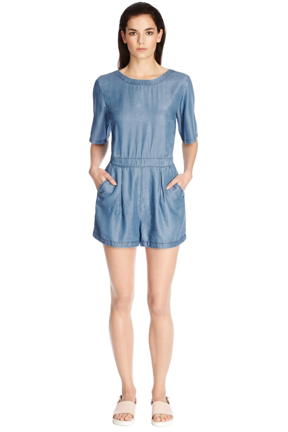 T-shirt playsuit