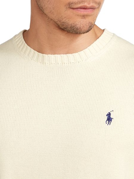 Polo Ralph Lauren Crew Neck Cotton Jumper