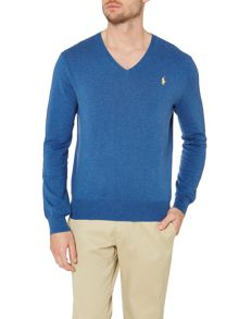 Polo Ralph Lauren Vneck cotton jumper
