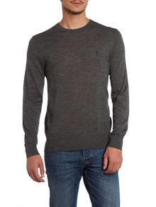 Polo Ralph Lauren Crew neck slim fit merino wool jumper