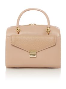 Nude removeable clutch small cross body bag