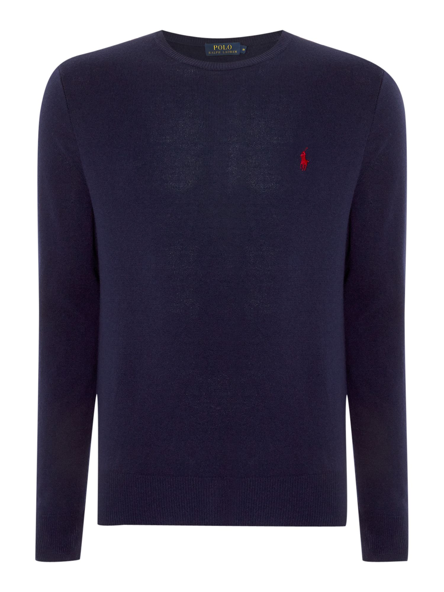 Crew neck wool jumper