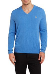 Polo Ralph Lauren Vneck wool jumper