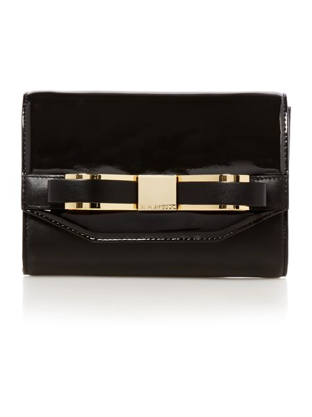 Ted Baker Black small saffiano cross body bag