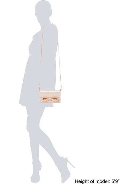 Ted Baker Nude small saffiano cross body bag