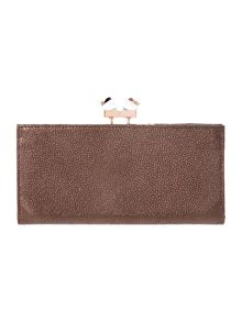 Gold large popper matinee purse