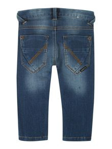 Boys regular fit denim trousers