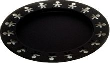 Girotondo Tray, Black