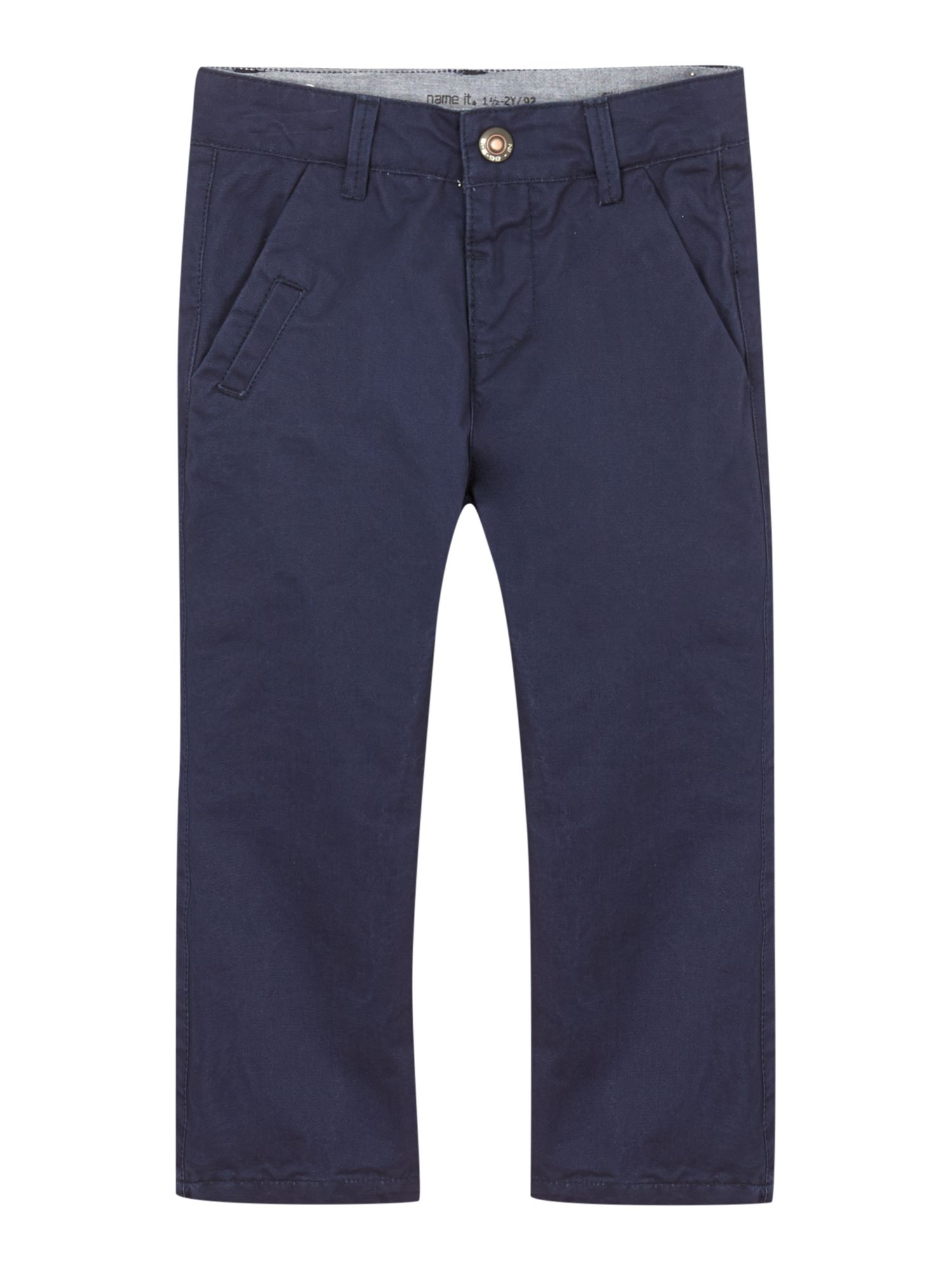 Boys straight leg chino trouser
