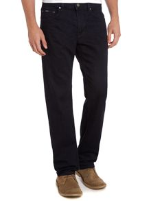 Maine regular straight indigo wash jean