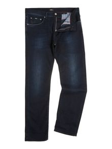 Maine regular dark indigo jeans