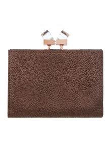 Gold small popper matinee purse