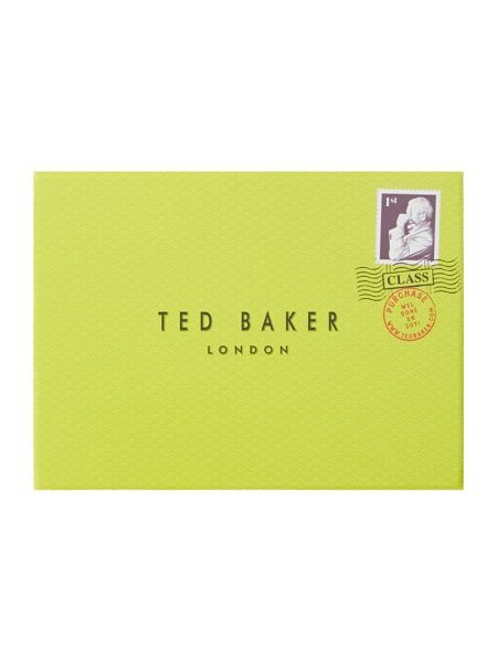Ted Baker Gold small popper matinee purse
