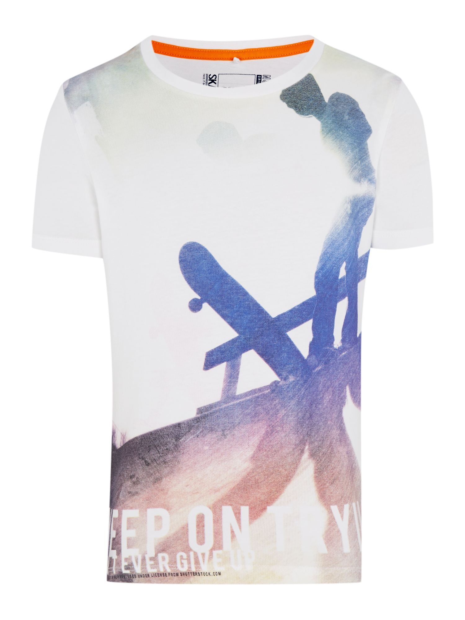 Boys skate graphic print t-shirt