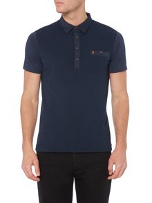Lester Regular Fit Textured Front Polo Shirt
