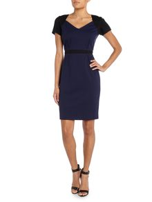 Hoss Intropia Cap Sleeve Shift Dress
