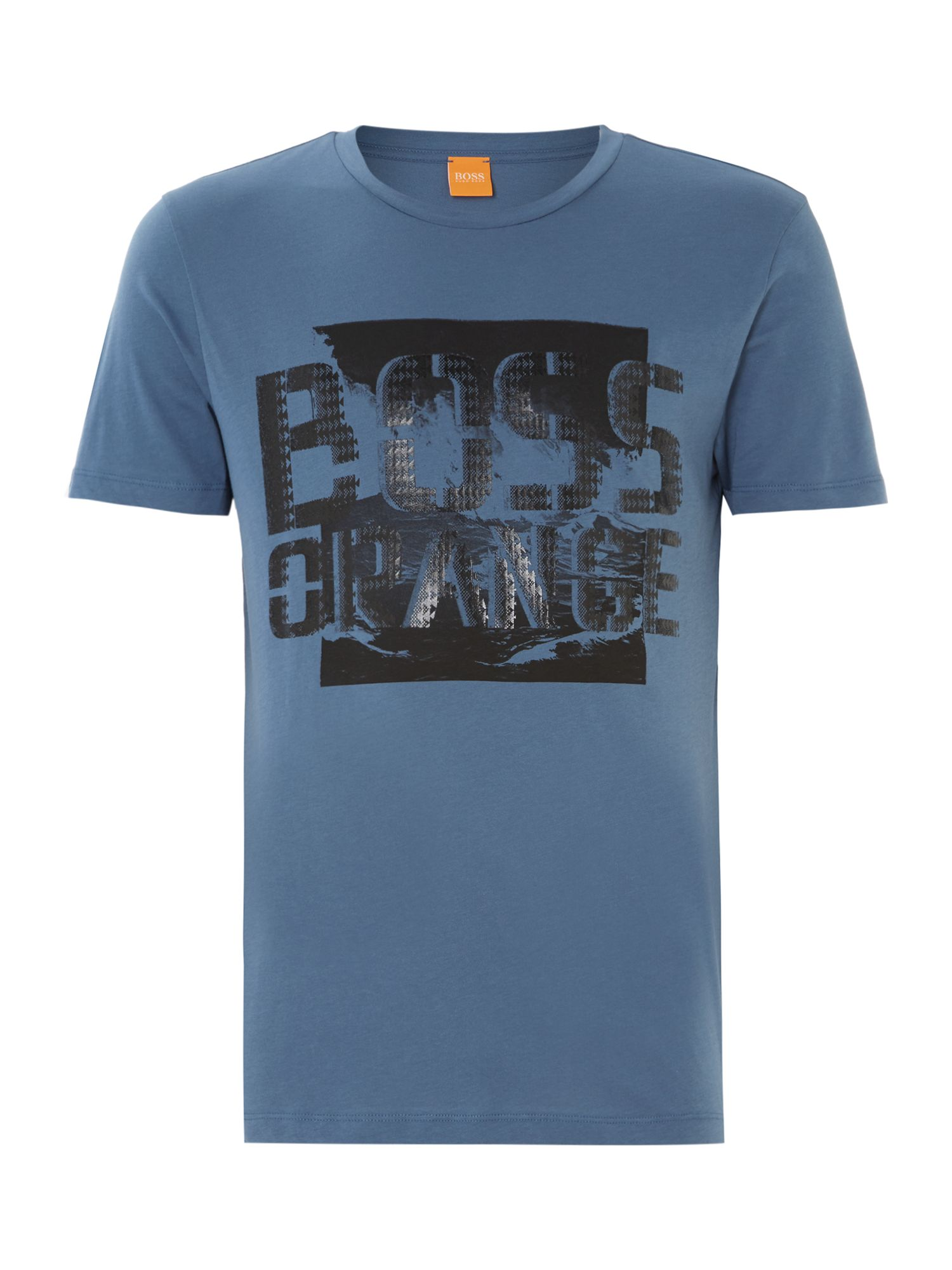 Boss orange logo printed t shirt
