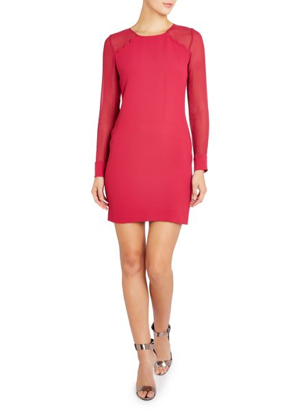 Hoss Intropia Scallop Shift Dress