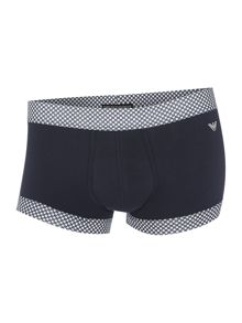 2 pack geo check underwear trunk