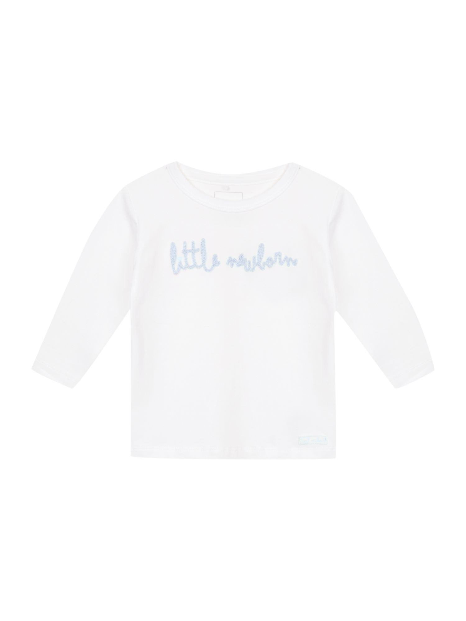 Babys Little Newborn slogan t-shirt
