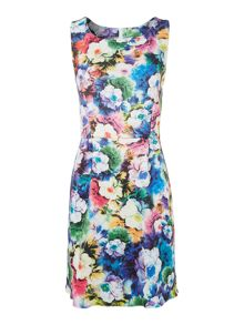 SL Bodycon Floral Print Dress