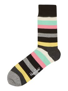 Multistripe Sock