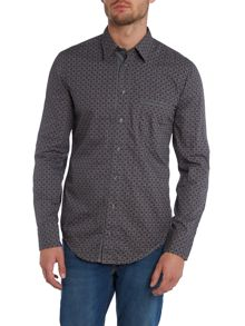 Long Sleeve All Over Print Shirt