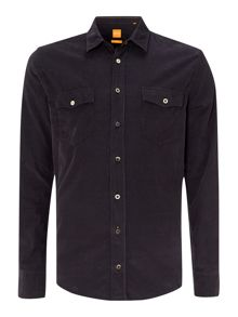 Long sleeve two pocket cord shirt