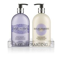 French Lavender & Cassis Hand Wash & Lotion Set