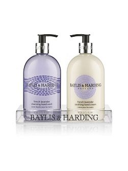 French Lavender & Cassis Hand Wash & Lotion