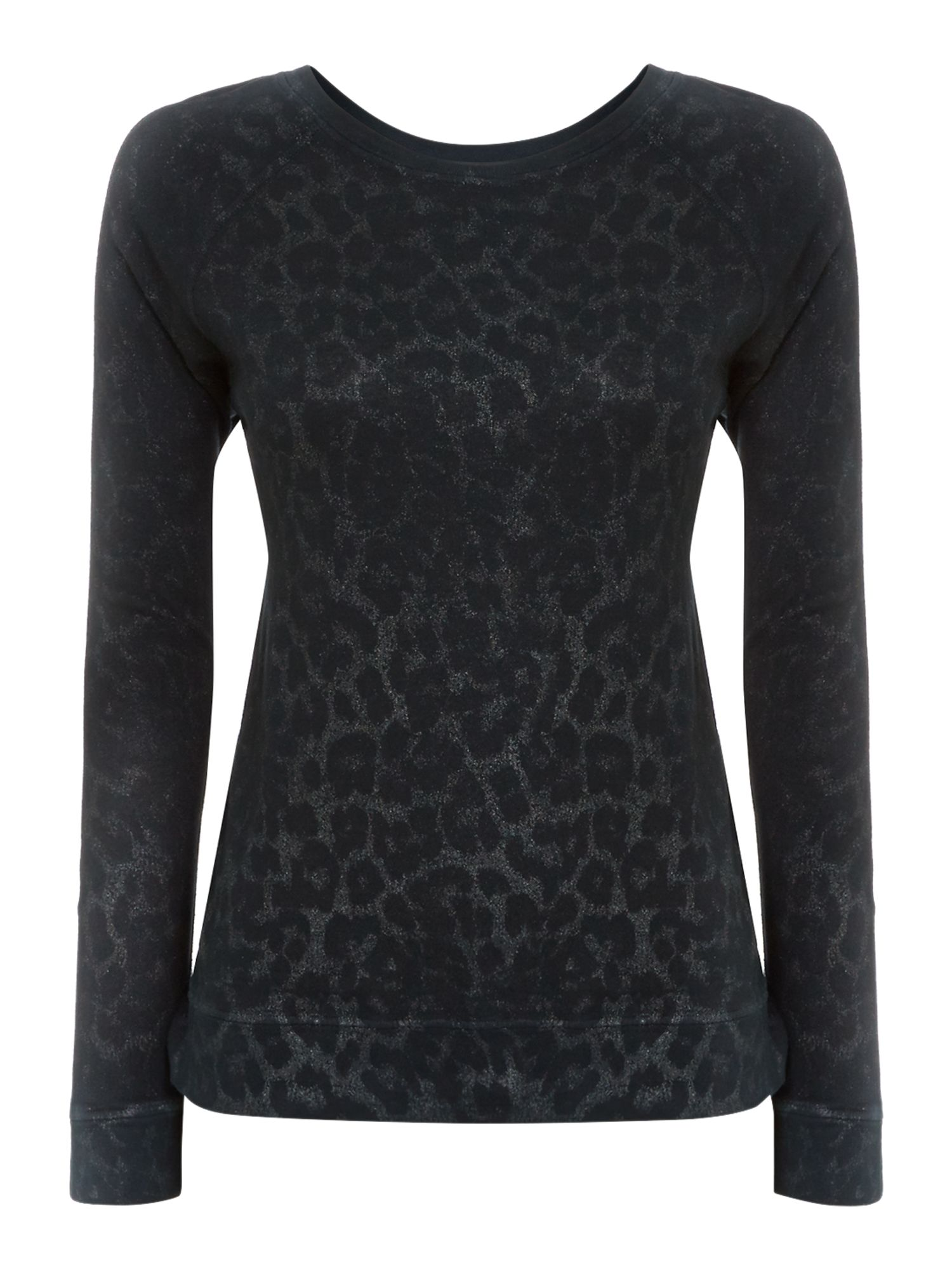 Current Elliott The letterman top in highland leopard