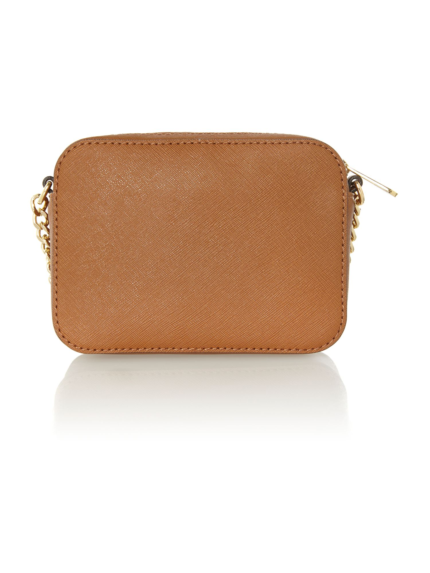 Jet set travel tan small chain cross body