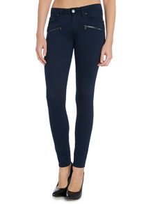 Paige Indio zip ultra skinny jeans