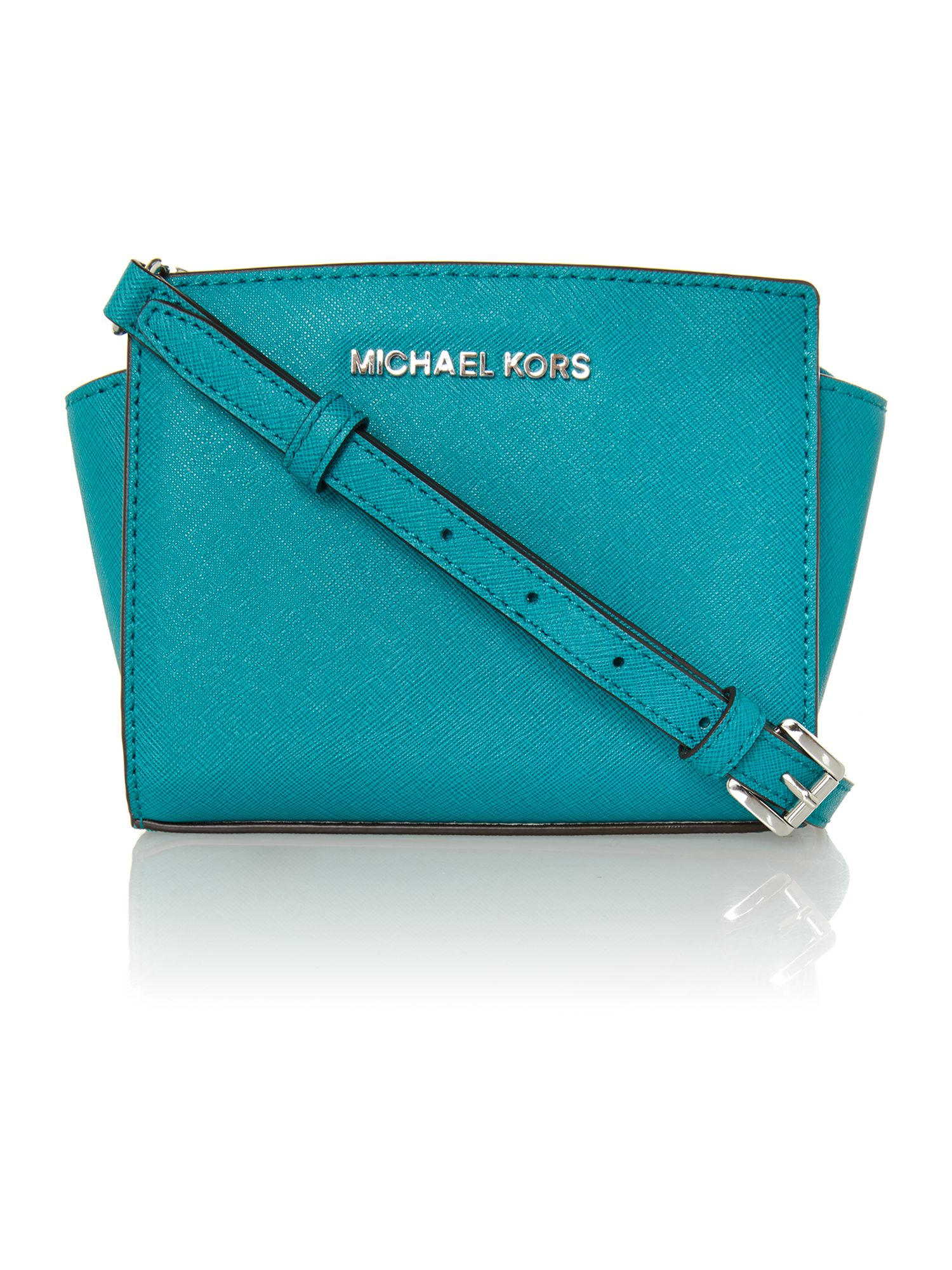 Selma blue mini cross body bag