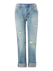 501 boyfriend jeans in washed up